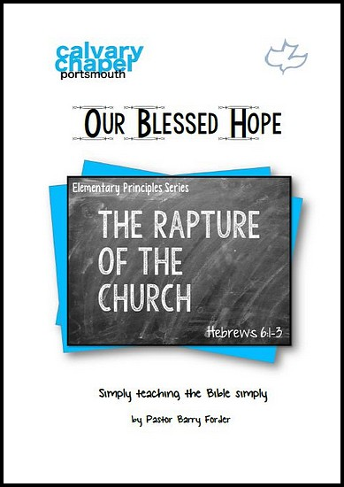 js_our blessed hope - barry forder