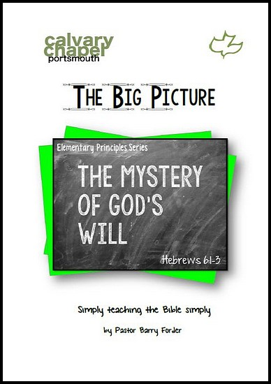 js_the big picture - barry forder